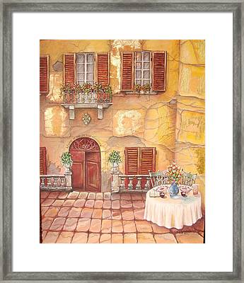 Devoted Framed Print by Cecilia Putter