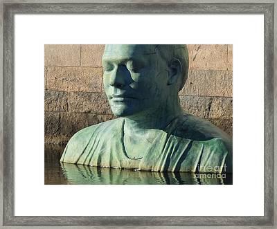Devotion Framed Print by Lutz Baar