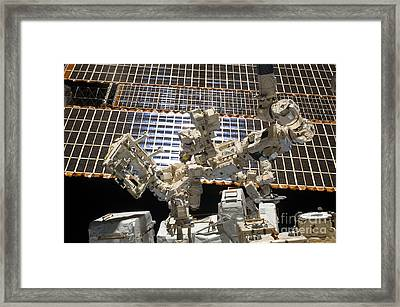 Dextre, The Canadian Space Agencys Framed Print