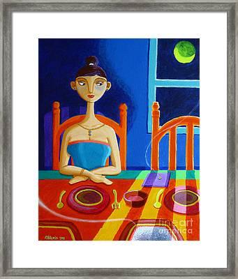 'di Parang Kaning Mainit Framed Print by Paul Hilario