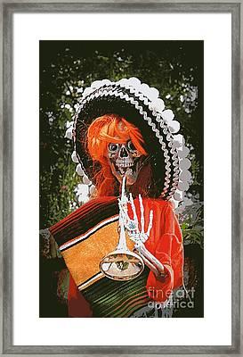 Dia De Los Muertos 1 Framed Print by Renee Trenholm