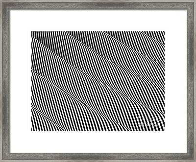 Diabolical Diagonal Framed Print by Steve Young