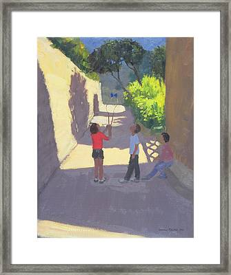 Diabolo France Framed Print by Andrew Macara