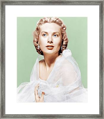 Dial M For Murder, Grace Kelly, 1954 Framed Print by Everett