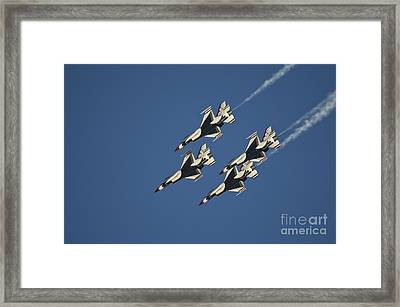 Diamond Loop Pullout Framed Print by Tim Mulina