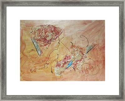 Diamonds And Rust  Tribute To Joan Baez Framed Print