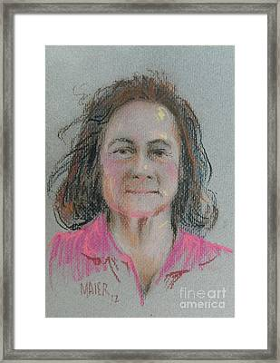 Dianne Framed Print