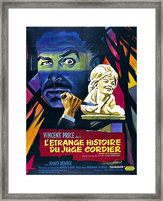 Diary Of A Madman, Aka Letrange Framed Print by Everett