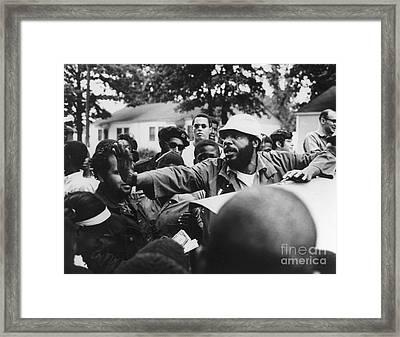 Dick Gregory (1932- ) Framed Print
