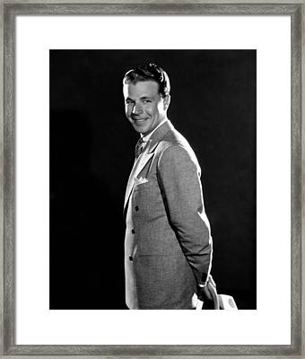 Dick Powell, Ca. Early 1930s Framed Print by Everett