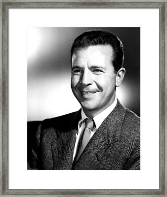 Dick Powell, Mgm, 1953 Framed Print by Everett