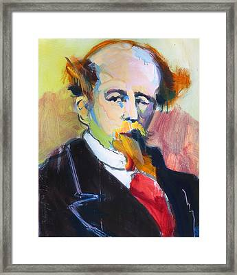 Dickens Framed Print by Les Leffingwell