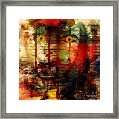 Did You Say - Trust Framed Print by Fania Simon