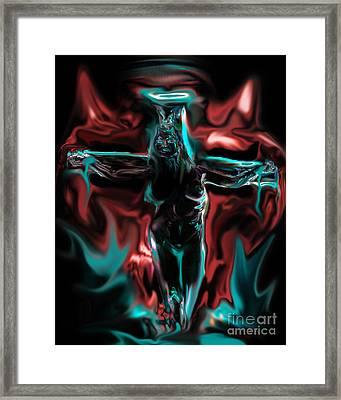 Die 4 Your Sins Framed Print by Tbone Oliver