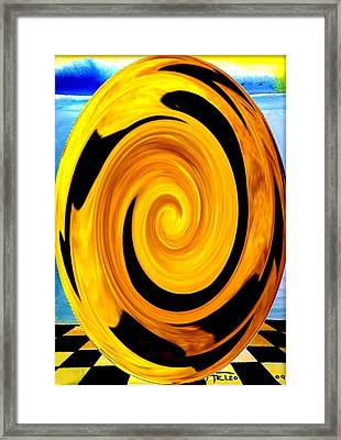Die In T Time 2 Framed Print by Arthur Thompson