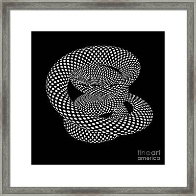 Difference Of Opinion Framed Print by Steve Young