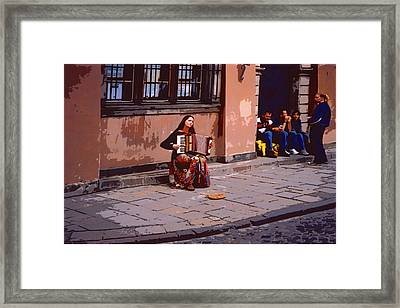 Different Faces Of Youth Framed Print by Rianna Stackhouse