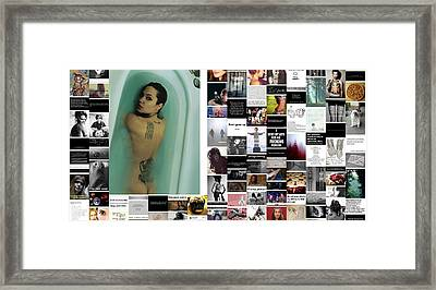 Different Is So Beautiful Framed Print