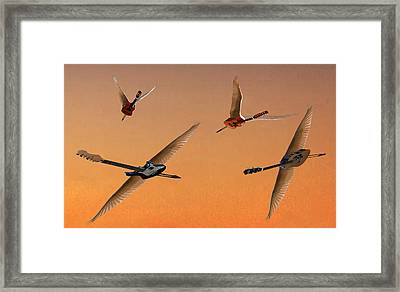 Different People Framed Print by Eric Kempson