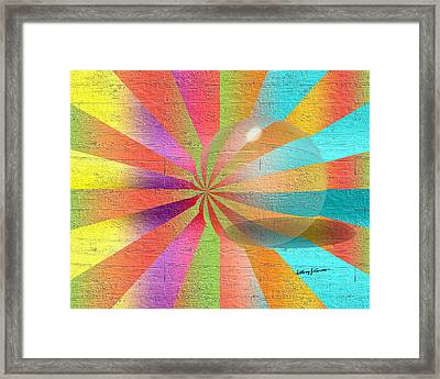 Digital Art 2 Framed Print by Anthony Caruso