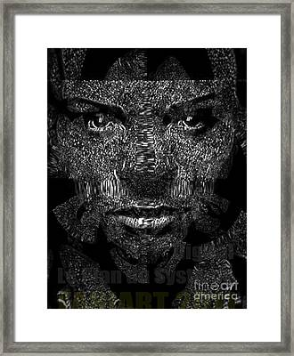 Digital Classic Framed Print by Fania Simon