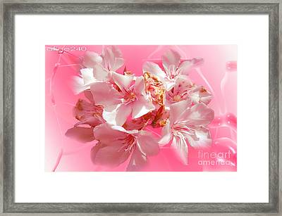 Digital Garden Framed Print