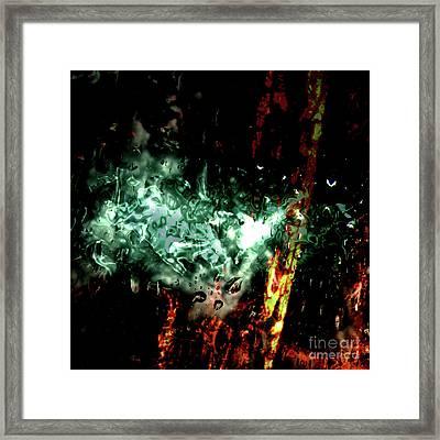 Digital Impact Framed Print by Bruno Santoro