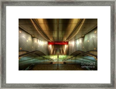 Digital Underground Framed Print by Yhun Suarez