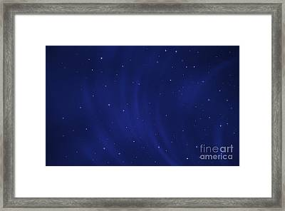 Digitally Generated Image Of Wind Framed Print