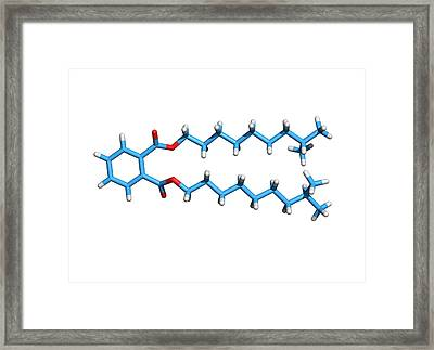 Diisodecyl Phthalate Framed Print by Dr Tim Evans