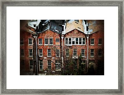 Dilapidated Building On Poydras Street Framed Print