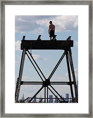 Dilema Framed Print