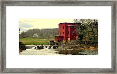 Dillard Mill 2 Framed Print by Marty Koch