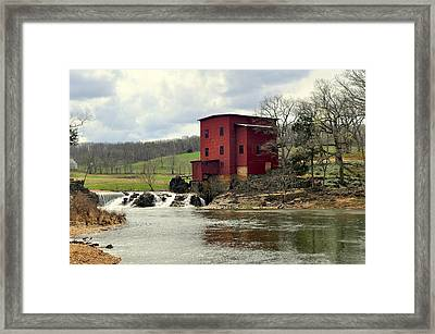 Dillard Mill Framed Print by Marty Koch