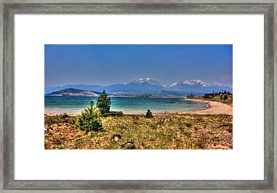 Dillon Lake Framed Print by Sergio Aguayo