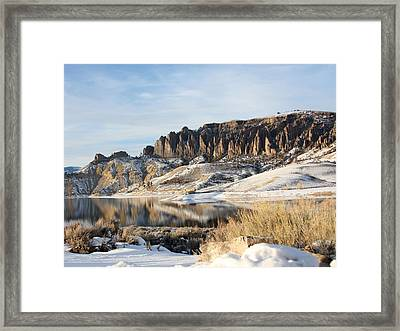 Framed Print featuring the photograph Dillon Pinnacles II by Marta Alfred
