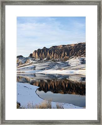 Framed Print featuring the photograph Dillon Pinnacles  by Marta Alfred