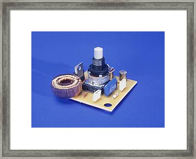 Dimmer Switch Framed Print by Andrew Lambert Photography