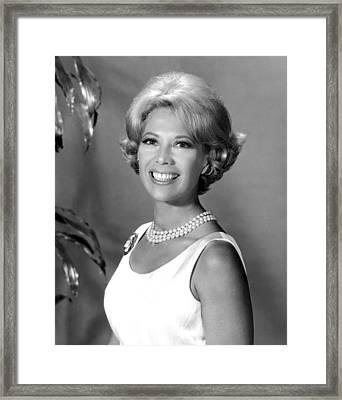 Dinah Shore, Ca. 1960s Framed Print