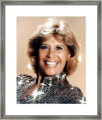 Dinah Shore, Ca. 1970s Framed Print