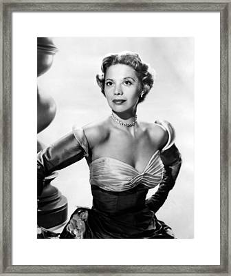 Dinah Shore, Ca. Early 1950s Framed Print