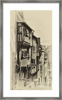 Framed Print featuring the photograph Dinan Antique I by Jack Torcello