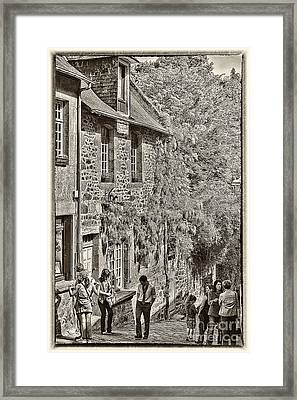 Framed Print featuring the photograph Dinan Antique II by Jack Torcello