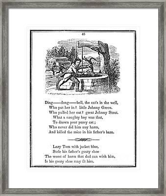 Ding Dong Bell, 1833 Framed Print by Granger
