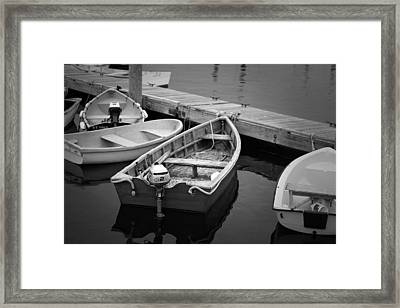 Dinghys Framed Print by Eric Gendron