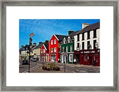 Dingle Bay Color Framed Print