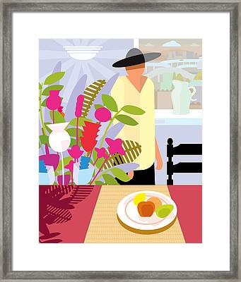 Dining Room Framed Print