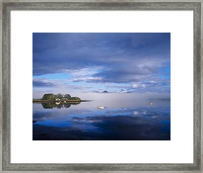 Dinish Island, Kenmare Bay, County Framed Print