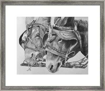 Dink And Donk Framed Print