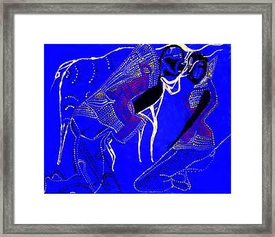 Dinka Marriage Framed Print by Gloria Ssali